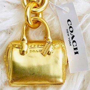 NWT: COACH Mini Bennett Satchel Bag Charm